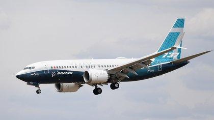 Vista de un Boeing 737 Max. EFE/Andy Rain/Archivo