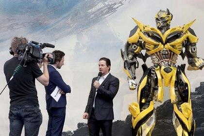 Mark Wahlberg en Transformers