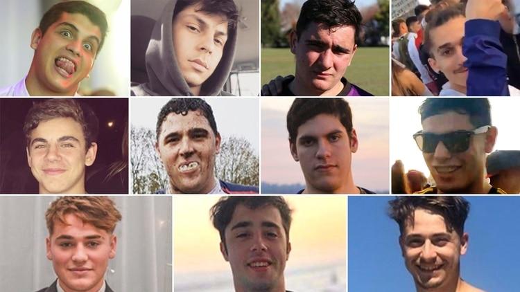 Los 11 detenidos