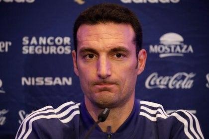 Lionel Scaloni dio a conocer los 30 convocados de Argentina que juegan en el fútbol del exterior  (Foto: Reuters)