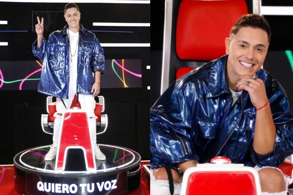 El cantante Internacional fue presentado como el último entrenador de la competencia. (Foto: Instagram)