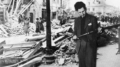 George Orwell combatió como voluntario contra las fuerzas franquistas