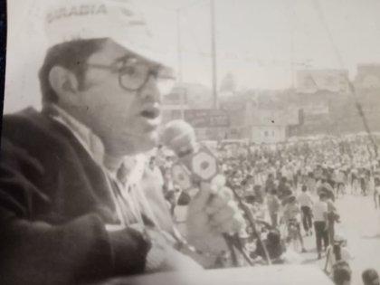 Los primeros años como cronista (Foto: Cortesía Luis Villicaña)