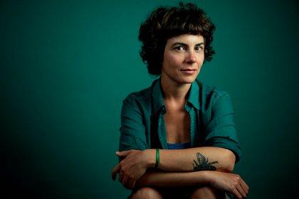 La activista y polítóloga Flavia Broffoni, una de las voces más relevantes del activismo argentino. Foto: Renata Sanz Fuganti.