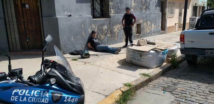 Jurado Mora, detenido luego de robar el celular