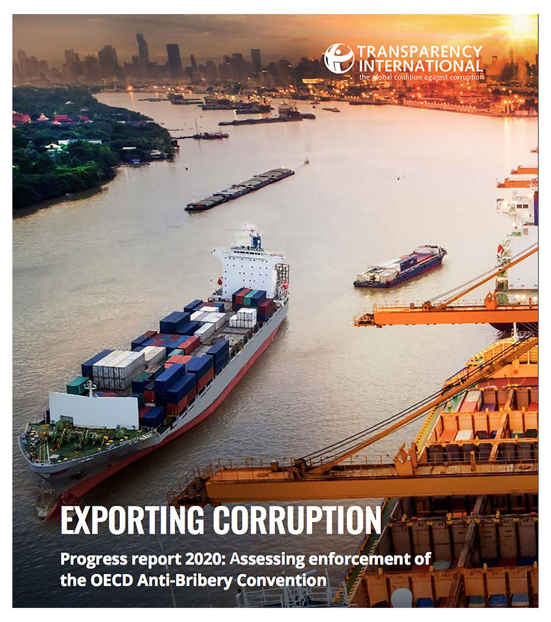 Sobornos en el extranjero-Transparencia Internacional