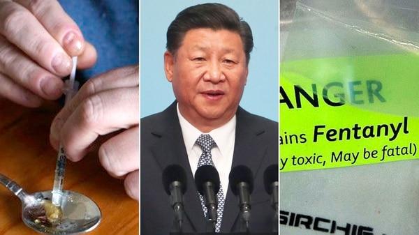 China es la principal productora de fentanilo, una poderosa droga que se convirtió en epidemia en las principales potencias americanas y europeas