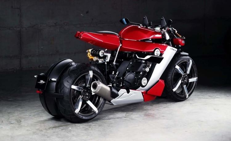 El precio definido por el fabricante para esta moto es de 109 mil dólares. (Lazareth)