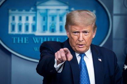 Donald Trump (Foto: EFE/Sarah Silbiger)