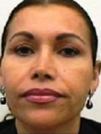 """María Alejandrina Salazar Hernández, la primera esposa de """"El Chapo"""", con quien se casó en 1977 (Foto: Archivo)"""