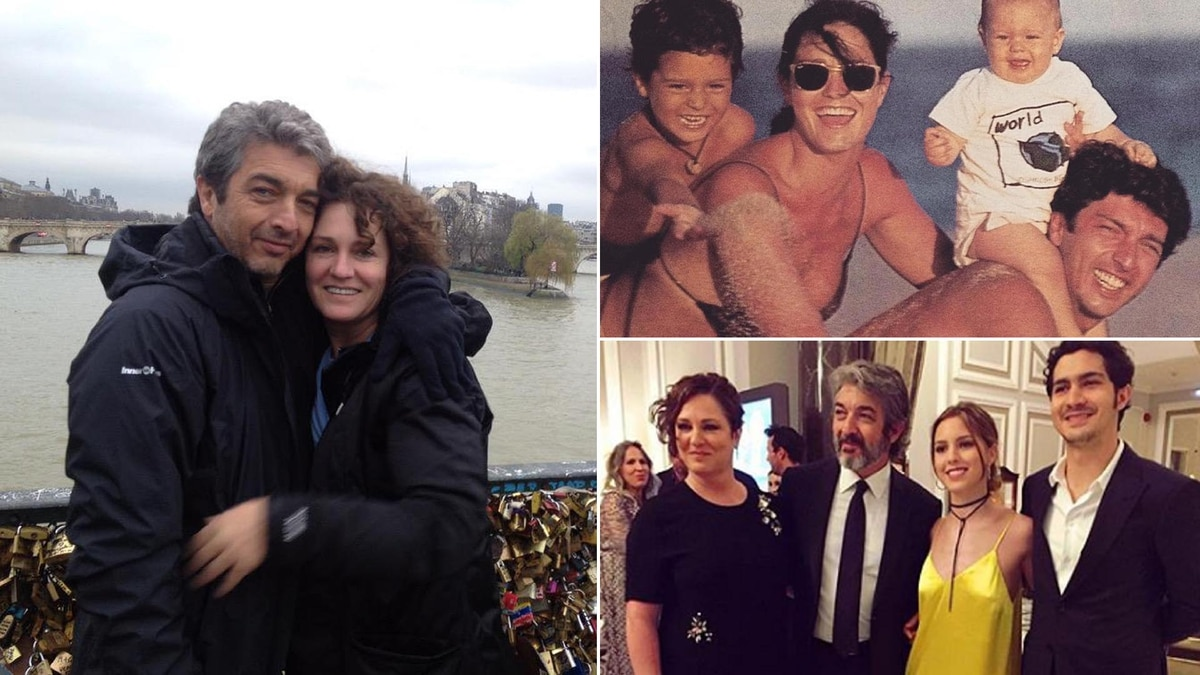 1fe8c8d3 Love at first glance, a sought after reunion and the exact question: 30  years of love to Ricardo Darín and Florencia Bas