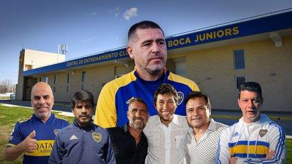 Quiénes son los soldados de Riquelme en el Centro de Entrenamiento que Boca posee en Ezeiza