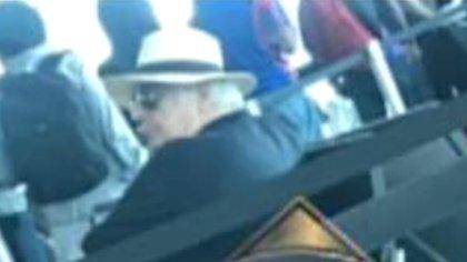 Otra de las supuestas fotos de Samid en el aeropuerto de Panamá