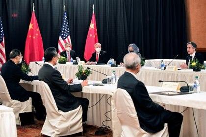 Cumbre entre Estados Unidos y China en Alaska