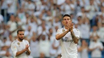 James Rodríguez podría ser uno de los apuntados para mudarse a Manchester (REUTERS/Juan Medina)