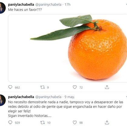 Parte de las respuestas de Panini en Twitter