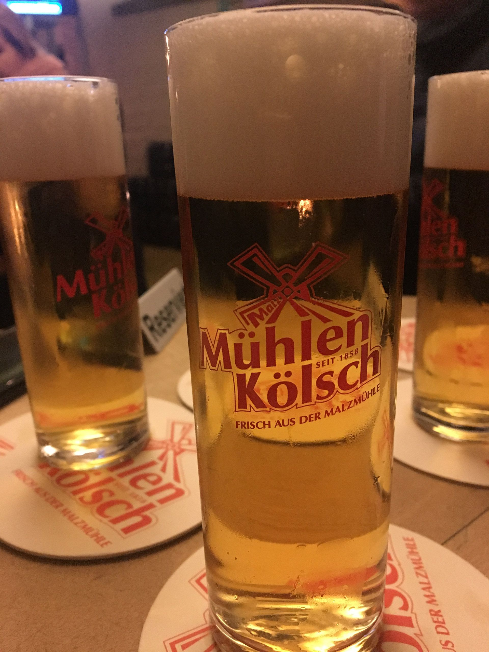 Una de las kölsch de Colonia