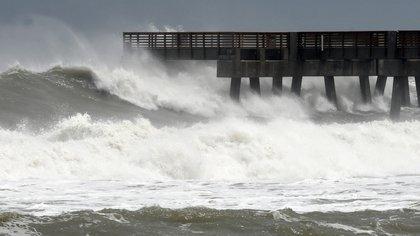 Se espera fuerte oleaje en Yucatán y Quintana Roo. (Foto: EFE)