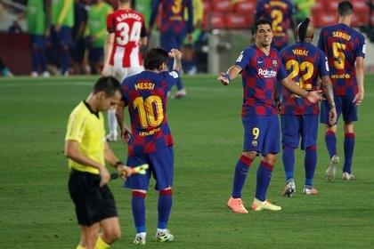 El Barcelona necesitará mejorar su nivel para seguir peleando por el título (Reuters)