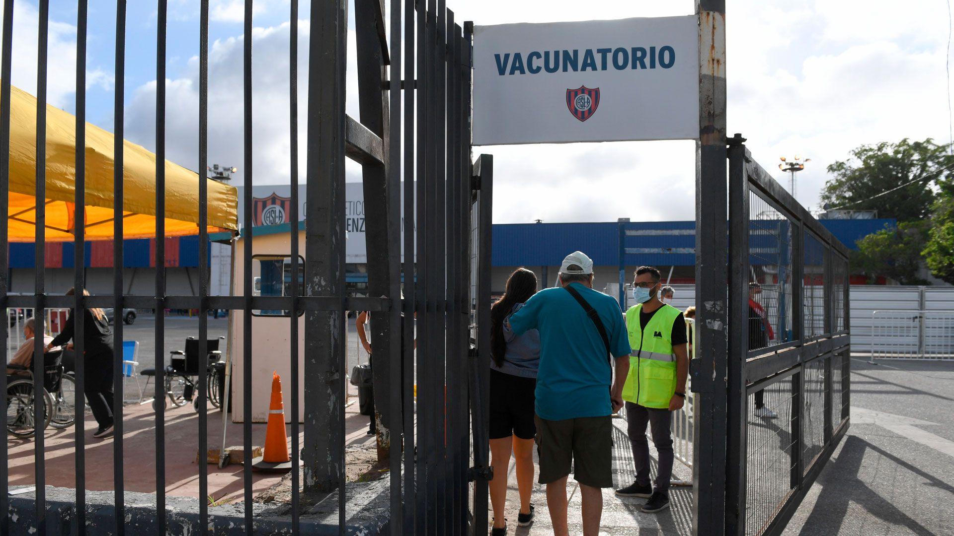 vacunatorio-san-lorenzo-vacunacion buenos aires covid 19 coronavirus