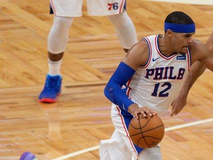 El jugador de Philadelphia 76ers Tobias Harris. EFE/EPA/CJ GUNTHER/Archivo