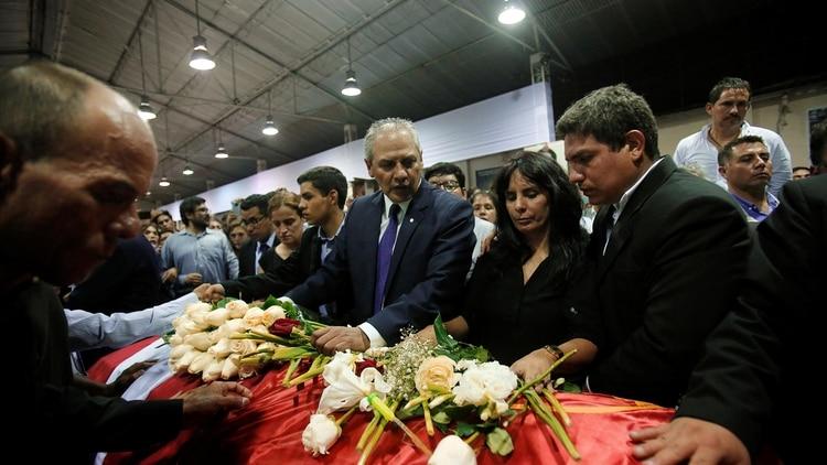 La familia de Alan García decidió que el velatorio sea en la sede de su partido (Reuters)