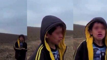 """""""Sólo quería abrazar a mi hijo"""": liberaron a Meylin, la madre del menor nicaragüense abandonado en el desierto de Texas"""