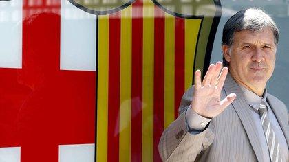 Martino llegó al Barcelona tras un buen paso por la selección de Paraguay y Newell's