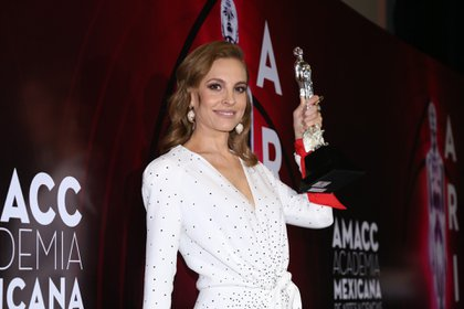 Marina de Tavira, ganadora del premio Ariel   (Foto: Juan Vicente Manrique/Infobae)