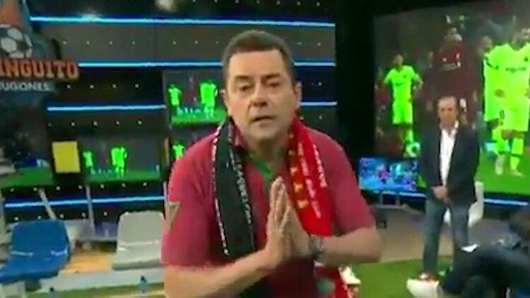 Tomás Roncero, el fanático del Real Madrid que fue muy duro con Messi por la eliminación del Barcelona