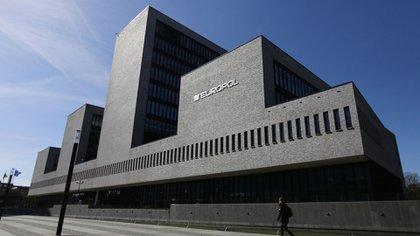 La sede de la Europol en La Haya, Holanda,
