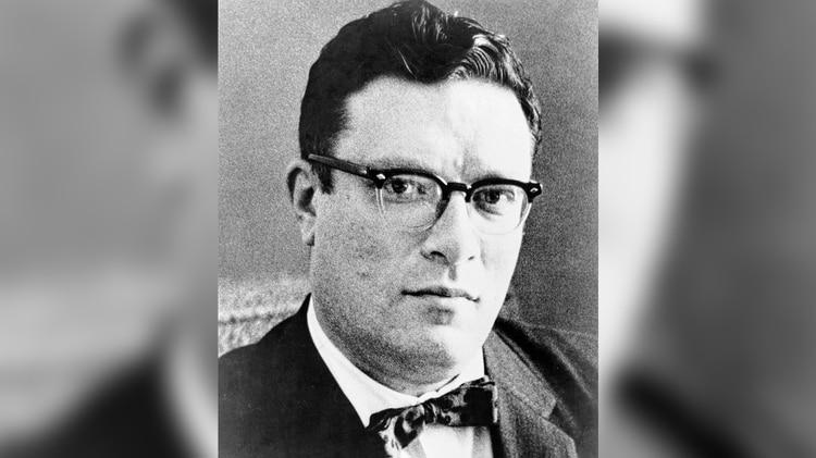 Isaac Asimov, joven (Foto: Doubleday de Nine Tomorrows)