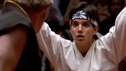 """Ralph Maccio en """"Karate Kid"""": la filmó en 1984, un año antes del estreno de """"Volver al futuro"""""""
