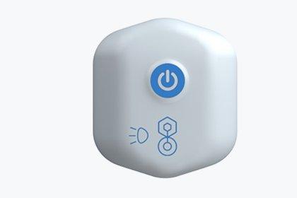 BioButton es un wearable para monitorear la temperatura así como la frecuencia cardíaca y respiratoria de forma constante