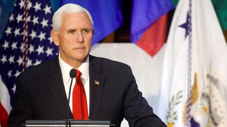 Mike Pence participó a la Conferencia de las Américas (Reuters)