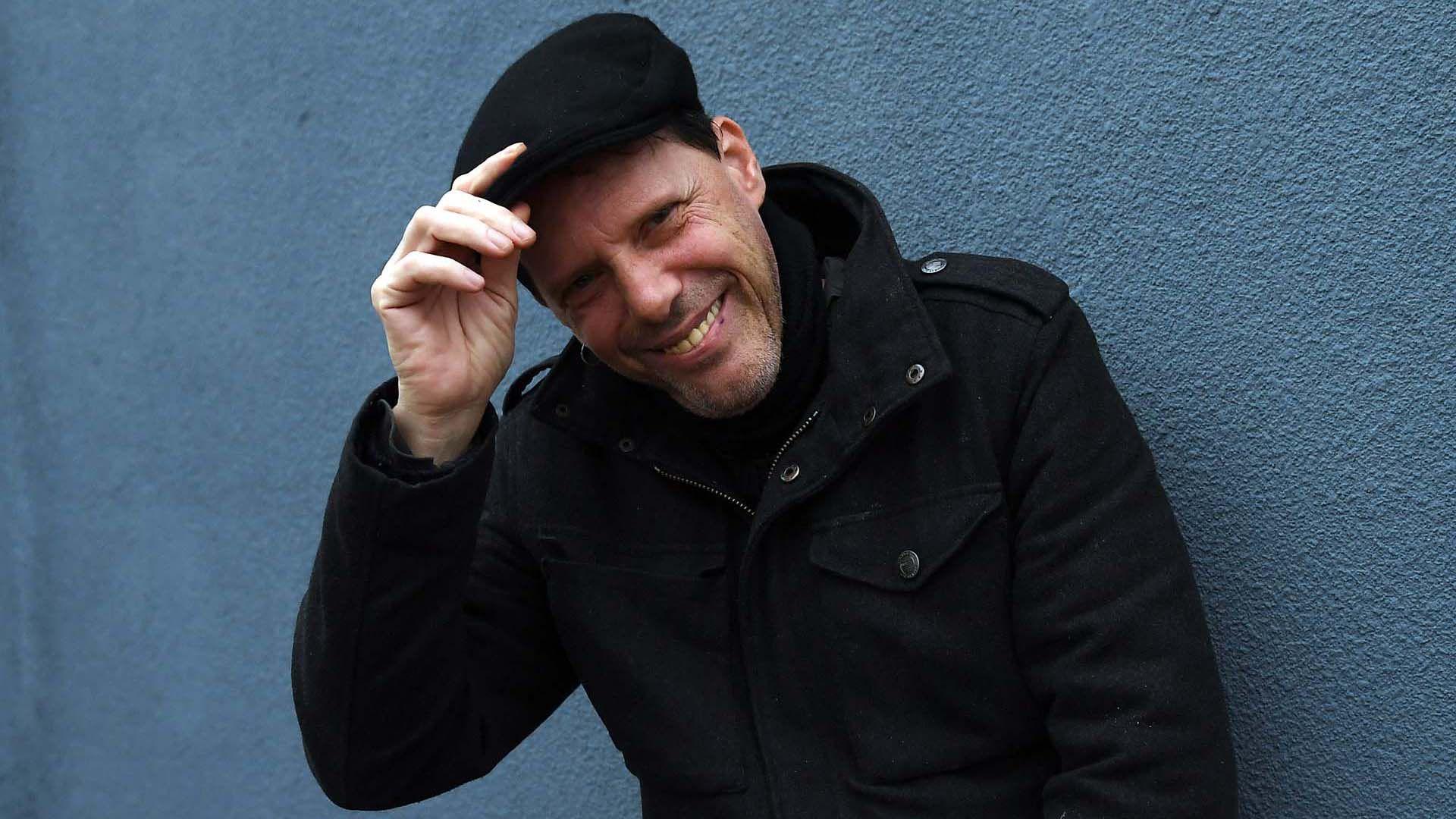 Pil Trafa cantante de Los Violadores (Maximiliano Luna)
