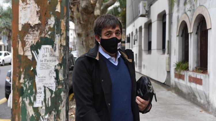 "Fabián De Sousa se presentó en el juzgado de Lomas de Zamora como víctima del espionaje ilegal: ""Lo que vi da asco"""