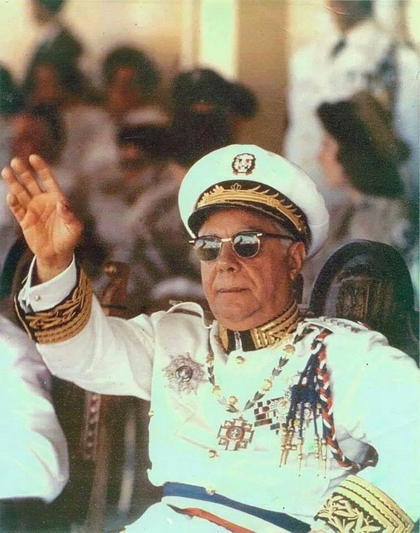 El sanguinario dictador Rafael Trujillo
