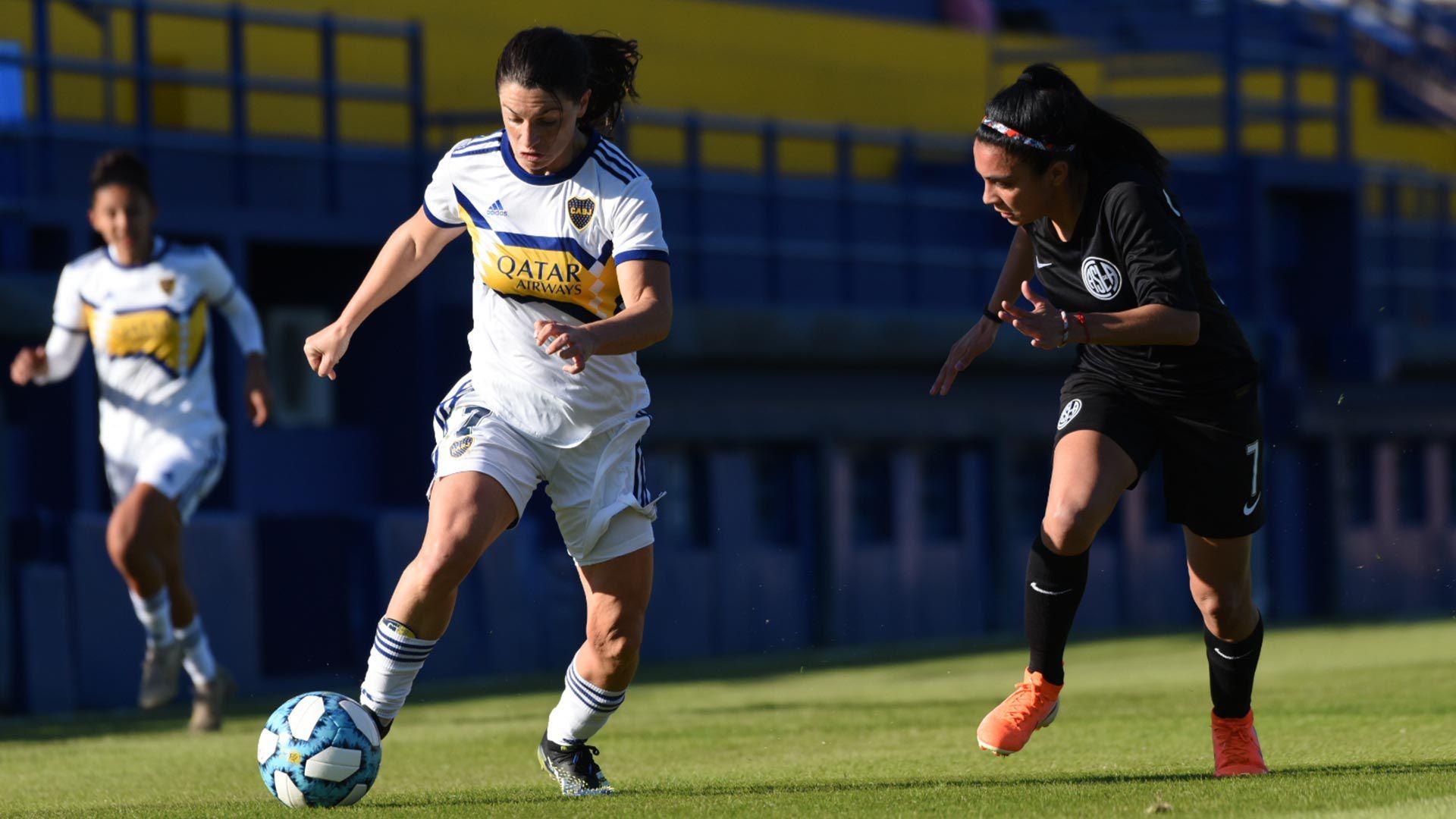 Boca y San Lorenzo femenino
