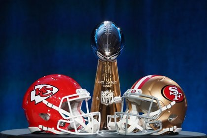 El Super Bowl LIV será entre San Francisco 49ers y los Kansas City Chiefs (Foto: USA TODAY Sports)