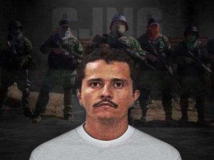 """Nemesio Oseguera """"El Mencho"""" no perdona la detención de """"El Manotas"""" y busca venganza (Fotoarte: Steve Allen)"""