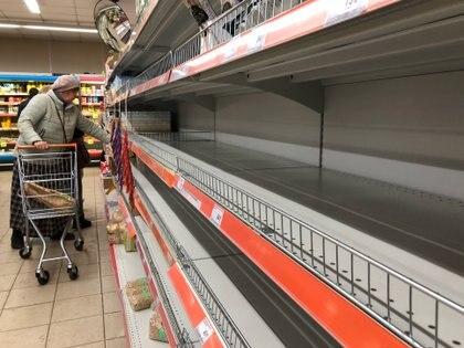 Un supermercado en Moscú (REUTERS/Evgenia Novozhenina)