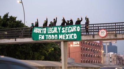 Las protestas a favor del aborto se realizaron el ciudades de al menos una docena de estados (Foto: Cortesía Marea Verde)