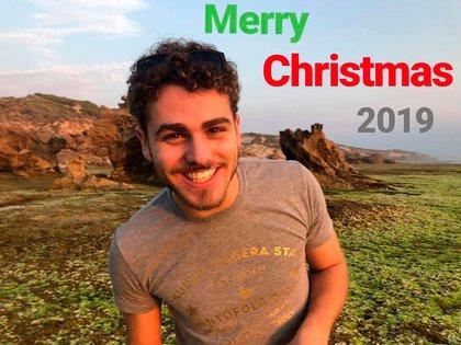 En una de sus últimas publicaciones en Instragram, Eric Birighitti les deseó Feliz Navidad a sus seguidores (@ebirighitti)