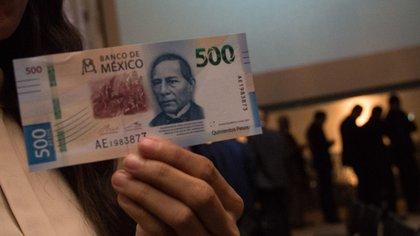 Este es el billete de 500 pesos que se vende en más de 44,000 pesos
