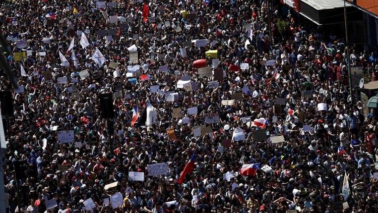 Resultado de imagen para huelga general chile