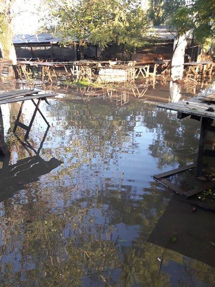 Las áreas urbanas de La Plata quedaron bajo el agua a raíz de las precipitaciones