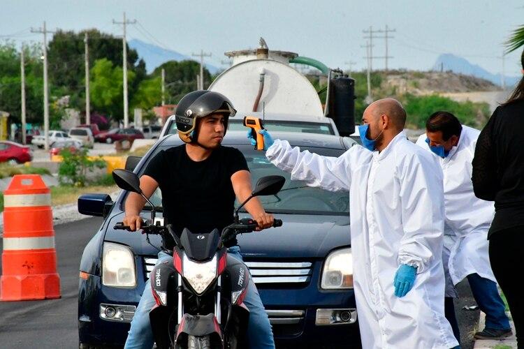 Coahuila es la sexta entidad con más casos de coronavirus en el país, con 57 (Foto: EFE/Andrés Landa)