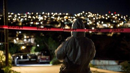 El ataque ocurrió a la vista de niños y adultos que contemplaban el partido en la calle Volcanes de la colonia Urbi Villas del Prado II (Foto: Cuartoscuro)