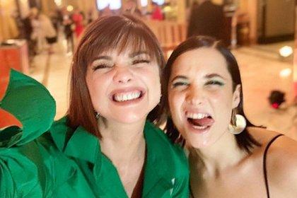Araceli Gonzlaez y Florencia Torrente